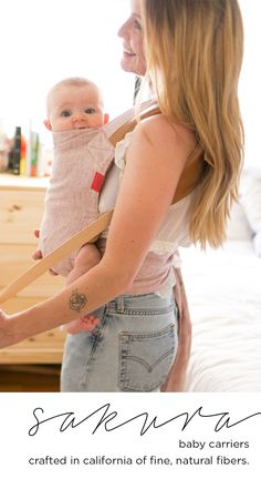 Baby carriers crafted of fine, all-natural fibers. Baby Boys, Baby Gadgets, Everything Baby, Baby Needs, Baby Time, Baby Hacks, Baby Essentials, Baby Accessories, Baby Wearing