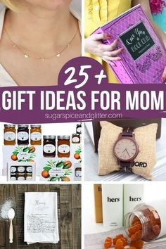 Mom is special, so her gift should be, too! 25 of the most thoughtful and unique gift ideas for moms out there! From personalized kitchen items to beautiful jewelry, fun subscription boxes and more! Mothers Day Presents, Mothers Day Crafts, Mother Day Gifts, Kitchen Gifts, Kitchen Items, Gifts For Friends, Gifts For Mom, Cute Gifts, Unique Gifts