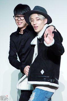 |B.A.P| JONGUP & HIMCHAN #bap #Jongup #Himchan