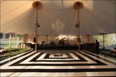 Custom Wedding Dancefloors | Row 1: Skyline Tent Company;