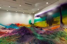 RAINBOW ROOM--Katharina Grosse
