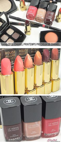 Spring 2013: CHANEL PRINTEMPS PRÉCIEUX DE CHANEL. #chanel #makeup #spring2013