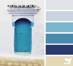 A Door Hues via @designseeds #designseeds #seedscolor #color #colorpalette #color #palette #colour #colourpalette