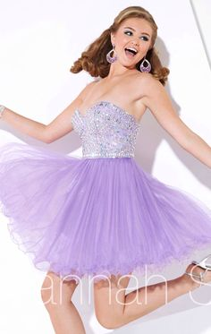 Light Purple Dress.