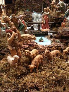 Jesus is born. Christmas Village Display, Christmas Nativity Scene, Christmas Villages, Christmas Carol, Christmas And New Year, Christmas Holidays, Nativity Scenes, Christmas Crib Ideas, Christmas Crafts