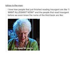 YES!!!! I remember back in the day when only Divergent was out, sad times