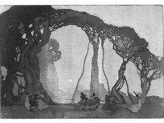 NGA Showcasing Sydney Long's Stunning Art Nouveau Works