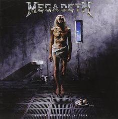 Megadeth Albums, Rush Albums, Countdown To Extinction, Tommy Steele, Metallica Black, Rock Cover, Aging Metal, Metal Albums, Judas Priest