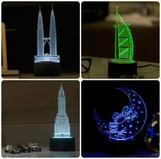3D LED Table Night Lamp #Lamp #NightLamp #3DLamp #TableLamp #3DNightLamp…