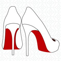 High Heels Decal Design, SVG, DXF, EPS Vector files for use with Cricut or Silhouette Vinyl Cutting Machines Drawing High Heels, Glamour Decor, Silhouette Vinyl, Silhouette Studio Designer Edition, Stained Glass Designs, Felt Patterns, Button Art, Vinyl Cutting, Vinyl Projects