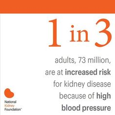 Have you checked your blood pressure recently? Learn more about the connection between kidney disease and BP at www.kidney.org