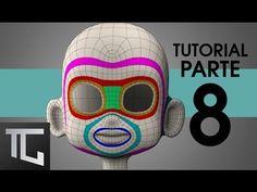 TUTORIAL TOPOLOGÍA BÁSICA EN TOPOGUN PARA RIG FACIAL ::: Parte 8 - YouTube
