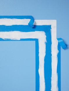 You can create faux-molding with little more than white paint and painter's tape #hgtvmagazine http://www.hgtv.com/handmade/simple-diy-art-projects/pictures/page-2.html#?soc=pinterest