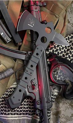 Fox Small ATC Commanche Fighting Tomahawk Axe