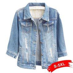 13e819fdc018 Jackets   Coats. Oversized JeansBomber ...