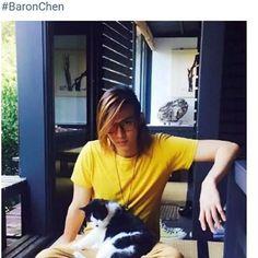 Baron Chen, Asian Celebrities, Kdrama, Musicians, River, Actors, Happy, People, Instagram
