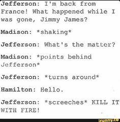 hamilton x jefferson love jamilton Aaron Burr, Musical Hamilton, Hamilton Broadway, Hamilton Comics, Funny Hamilton, Kill It With Fire, Nos4a2, Hamilton Fanart, Hamilton Lin Manuel Miranda