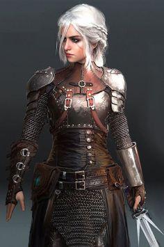Witcher 3   (Kylee Stern, Ninja Lvl 3, no mask, add scar to left cheek, Curse of the Crimson Throne. Pathfinder Module.