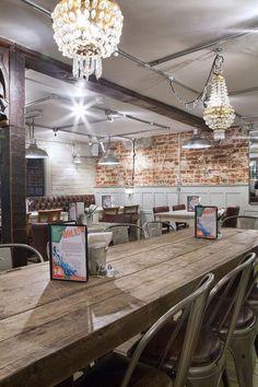 Imagen de las sillas de diseño francés para restaurantes y franquicias.