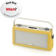 View Quest Hepburn Bluetooth Audio System with DAB+/FM Radio - Mustard: Image 61