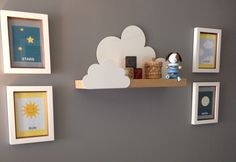 Project Nursery - Cloud Wall Shelf - Project Nursery