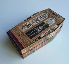 Patty's Crafty Spot: Graphic 45 Coffin Trinket Box with Rare Oddities by Pattys Crafty Spot
