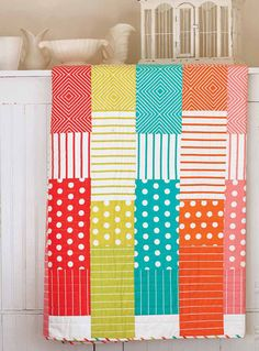 """Fresh and Fruity, 66 x 66"""", quilt pattern available to buy at Fons & Porter... photo inspiration"""