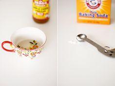 "Using apple cider vinegar as toner and ""tea"" for clear skin"