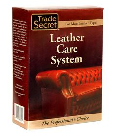 The best leather care and protection system in the world! Cleans of the dirt & grease we leave behind... and  protects against the same... Fantastic on aniline leather, pigmented leather, pull-ups and more!