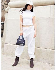 90sマインドを感じさせるストリートスタイルはハイブランドのアイテムで高級感をプラスして June issue P118 NEW BREAK OUT GIRLS IN THE WORLD model @jaynelies tops @dkny bottoms #vintage hat #vintage @louisvuitton bag @poloralphlauren shoes #vintage @prada #nylonjapan #nylonjp #fashion #snap #streetsnap #worldsnap #streetstyle #breakoutgirls #NY #newyork #caelumjp #white #coordinated #coordinates #ootd #outfit #coordinate #code #instafashion  via NYLON JAPAN MAGAZINE OFFICIAL INSTAGRAM - Celebrity  Fashion  Haute Couture  Advertising…