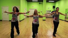 "I love how they add the cha cha cha in there!  (HOT Z Team) Christian Dance Fitness ""One Girl"""