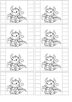 chameleon pens coloring pages | Keep track of your blends and combos with this free ...