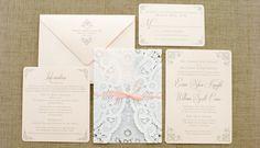 lace invitation - Google Search