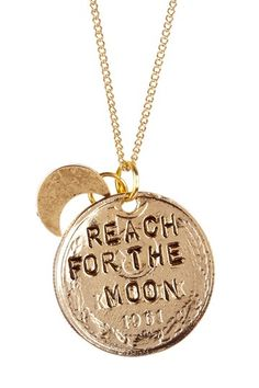 Reach For The Moon Necklace.