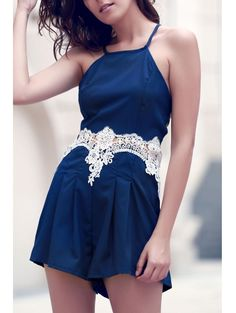 SHARE & Get it FREE | Lace Spliced Cami PlaysuitFor Fashion Lovers only:80,000+ Items • New Arrivals Daily Join Zaful: Get YOUR $50 NOW!