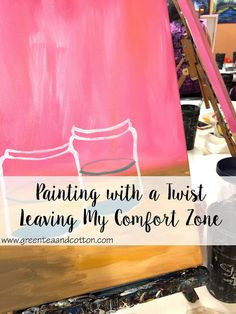 Green Tea + Cotton - Blog post - Leaving my comfort zone and making some new friends