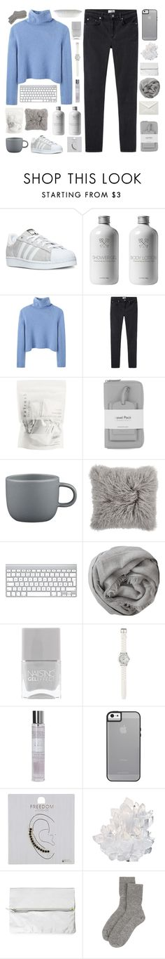 """81 &&; another piece of writing"" by bubbles-peach ❤ liked on Polyvore featuring adidas, The Row, Acne Studios, Warehouse, CB2, Brunello Cucinelli, Nails Inc., LOFT, Laura Ashley and Topshop"