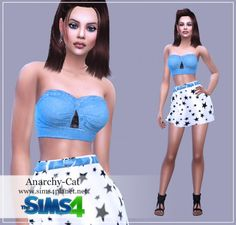 Anarchy-Cat: Clothing for females 18 • Sims 4 Downloads