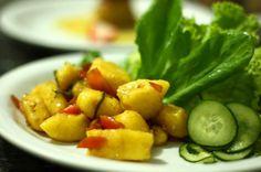 Nhoque de Batata Baroa com Gengibre e Cenoura | Receita
