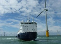 Generic Offshore Wind Image (Courtesy Offshore Wind Consultants, recently acquired by Norwegian company, Aqualis).