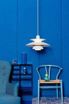 Den klassiske Y-stolen eller Wishbone Chair fra Carl Hansen - designet av Hans J. Wegner #wegner #wishbonechair #ystolen