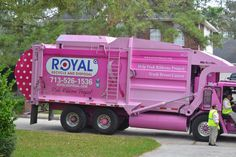 My new neighborhood garbage truck. Love it!