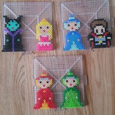 Sleeping Beauty perler beads by candiekane8