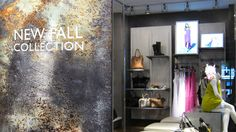 Interior Design, Architecture, Custom Metals,  Móz Designer Blendz Metal Patina Collection in No. 121, Clouds, Retail - Inviting Imagination  #InvitingImagination #BlendzPatinaMetal #MozDesignerMetals #Retail #patinametal #patina