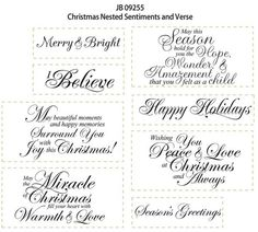 christmas card sentiments free