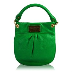 Love the grass green color.  The fact that it's Marc Jacobs doesn't hurt either ;-)!
