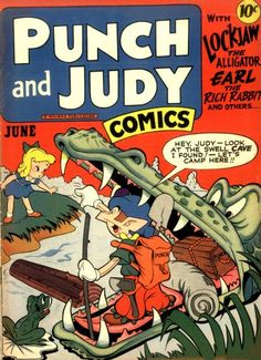 Pencil Ink: a blog featuring golden, silver and bronze age comic book art and artists: Punch and Judy Comics v2 #11 - Jack Kirby art
