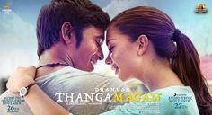 KOLLYWOOD MUSIC REVIEW WITH 《 THANGAMAGAN 》( 2015 ) - DHANUSH, AMY JACKSON & SAMANTHA RUTH PRABHU - ANIRUDH RAVICHANDER ♥