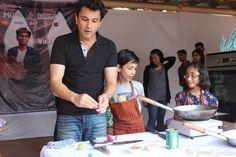 Chef Vikas Khanna with Little Chefs