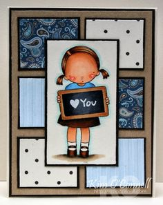 Paper Perfect Designs by Kim O'Connell:  MFT Pure Innocence It's a Sign